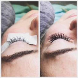 Volume Mix Eyelash Extensions