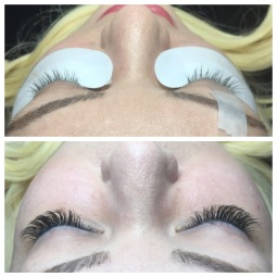 "Medium Length Volume Mix Lash Extensions ""Sexy"" Shape"