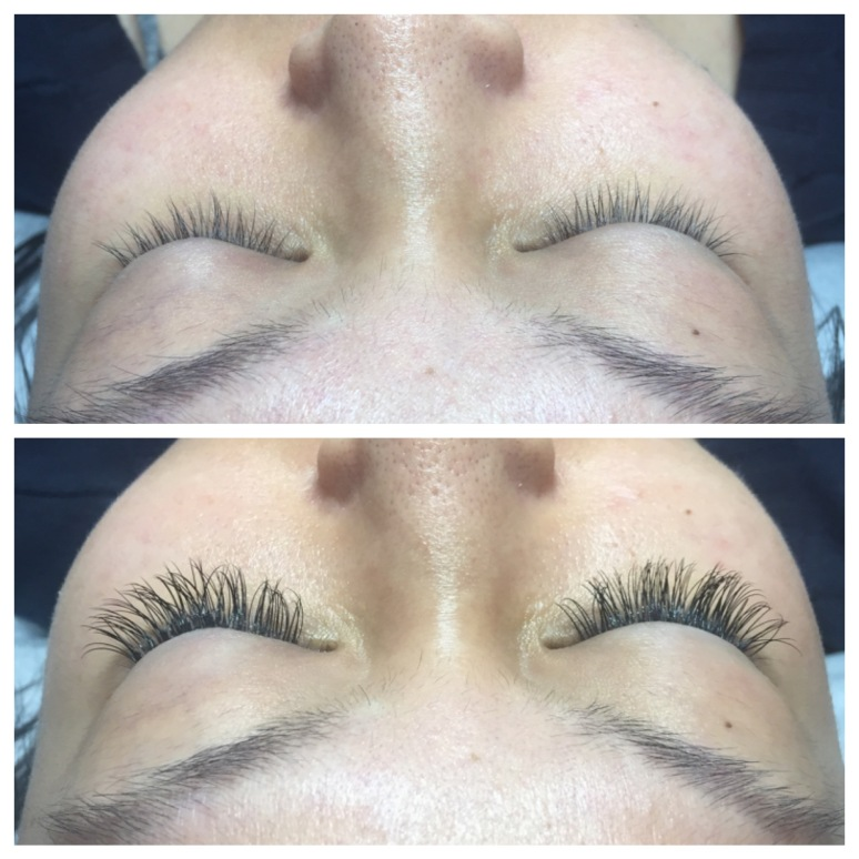 "Short to Medium Length Classic Lash Extensions ""Natural"" Shape"