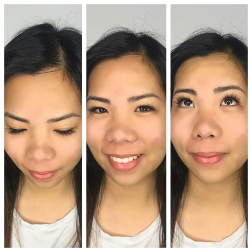 "Short Length Classic Lash Extensions ""Natural"" Shape on Monolid Eyes"