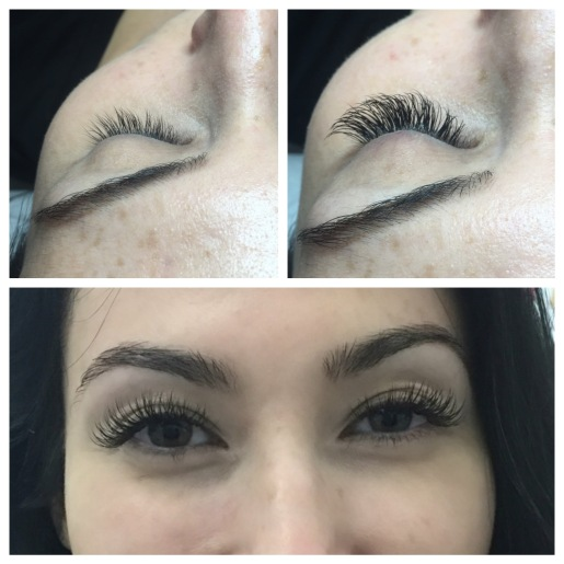 "Medium Length Classic Lash Extensions ""Gorgeousl"" Shape"
