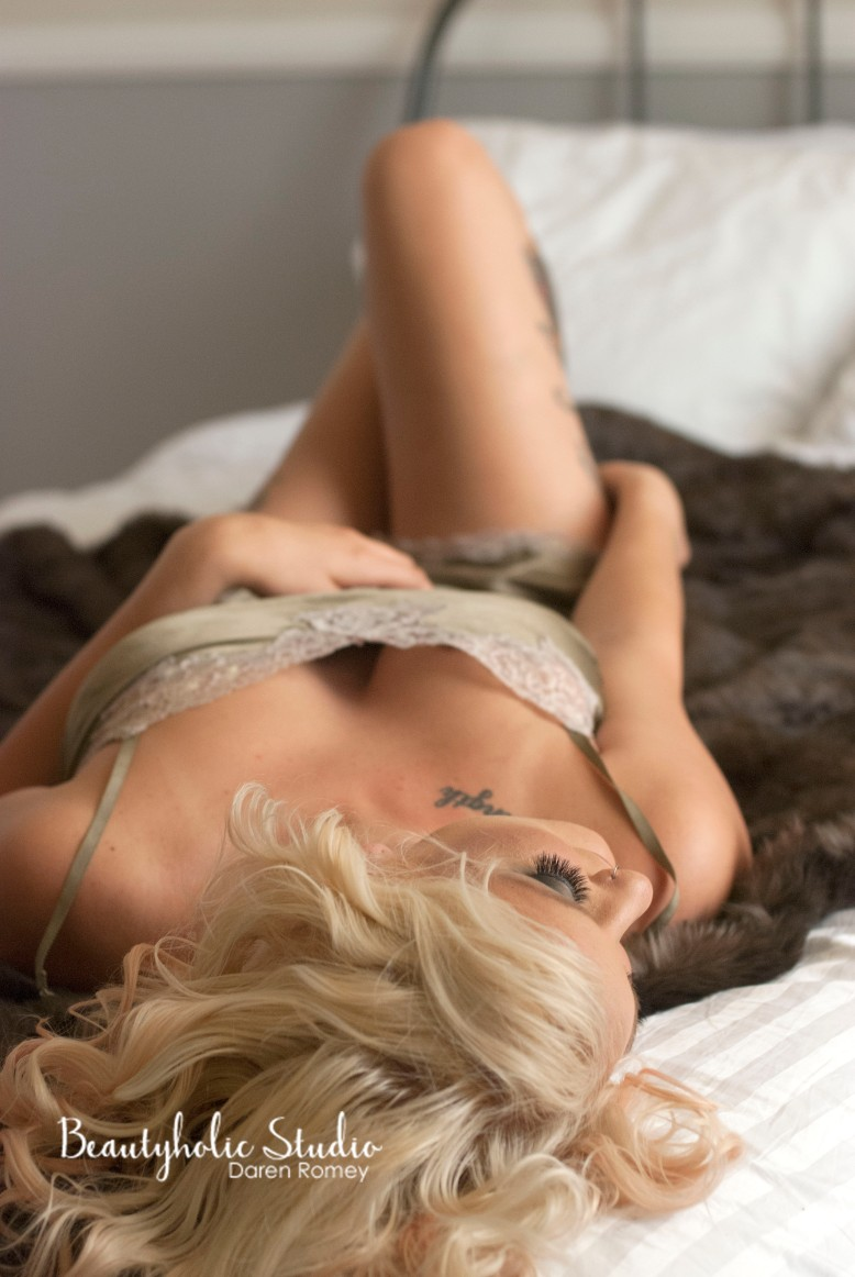 BOUDOIR photo shoot